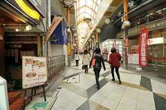 各線・中野駅前からつながっている商店街の様子。(2013-03-25,共用部,ENVIRONMENT,1F)