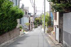 周辺は静かな住宅街です。(2021-07-26,共用部,ENVIRONMENT,1F)