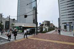 各線・中野坂上駅前の様子。(2011-05-16,共用部,ENVIRONMENT,1F)