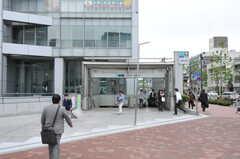 各線・中野坂上駅の様子。(2011-05-16,共用部,ENVIRONMENT,1F)