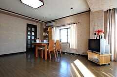 シェアハウスのリビングの様子2。(2011-01-26,共用部,LIVINGROOM,3F)