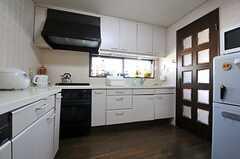 シェアハウスのキッチンの様子。(2011-01-26,共用部,KITCHEN,3F)
