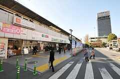 各線・中野駅の様子。(2011-01-26,共用部,GARAGE,1F)