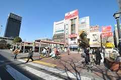 各線・中野駅前の様子。(2011-01-26,共用部,GARAGE,1F)