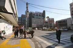 各線・中野駅前の様子2。(2011-01-26,共用部,GARAGE,1F)