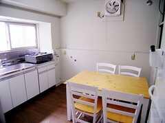 キッチンの様子。(2006-05-31,共用部,KITCHEN,1F)