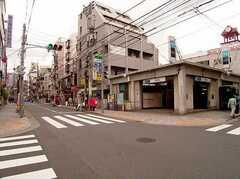 丸ノ内線中野新橋駅の様子。(2006-05-31,共用部,ENVIRONMENT,1F)