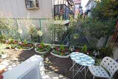 ガーデニングが楽しめる庭付き。(102号室)(2008-12-01,専有部,ROOM,1F)