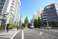 東京メトロ丸ノ内線新中野駅前の様子。(2009-01-08,共用部,ENVIRONMENT,1F)