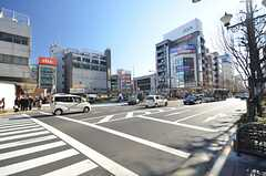 各線・中野駅前の様子。(2015-01-08,共用部,ENVIRONMENT,1F)