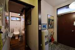 トイレの様子2。(2017-03-07,共用部,TOILET,1F)