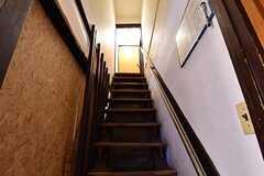 階段の様子。(2017-03-07,共用部,OTHER,1F)