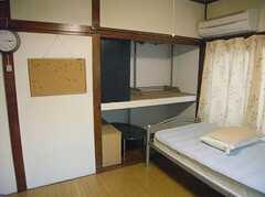 収納の様子。(206号室)(2007-12-27,専有部,ROOM,2F)