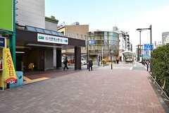 各線・中野坂上駅の様子。(2017-03-07,共用部,ENVIRONMENT,2F)
