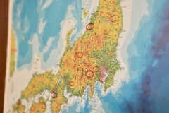日本地図の様子。(2017-11-28,共用部,OTHER,1F)