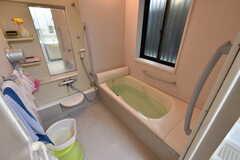 バスルームの様子。(2017-11-28,共用部,BATH,1F)