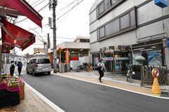 西武新宿線・都立家政駅の様子。(2017-09-20,専有部,ROOM,1F)