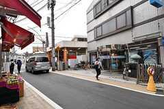 西武新宿線・都立家政駅の様子2。(2017-09-20,専有部,ROOM,1F)