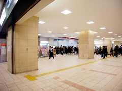 京王線笹塚駅の様子。(2007-01-25,共用部,ENVIRONMENT,1F)