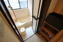 脱衣室の様子。(2012-03-04,共用部,BATH,1F)