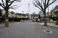 近隣の小さな公園。(2012-03-04,共用部,ENVIRONMENT,1F)