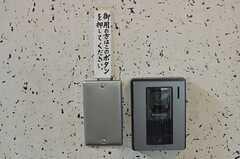 「御用の方はこのボタンを押してください」(2013-11-11,周辺環境,ENTRANCE,2F)