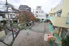 隣は保育園です。(201号室)(2013-11-11,専有部,ROOM,2F)