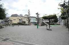 近所の公園の様子。(2013-11-11,共用部,ENVIRONMENT,1F)