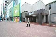 各線・中野坂上駅の様子。(2013-11-11,共用部,ENVIRONMENT,1F)