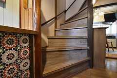 階段の様子。(2016-04-20,共用部,OTHER,1F)
