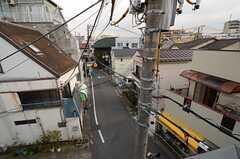屋上から見た通りの様子。(2015-03-23,共用部,OTHER,3F)