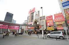 各線・中野駅前の様子。(2015-03-23,共用部,ENVIRONMENT,1F)