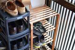 靴箱の様子。(2012-01-24,周辺環境,ENTRANCE,1F)