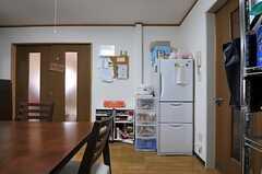 冷蔵庫の様子。(2012-01-24,共用部,OTHER,1F)
