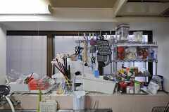 キッチンまわりの様子。(2012-01-24,共用部,KITCHEN,1F)