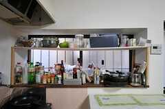 キッチンまわりの様子2。(2012-01-24,共用部,KITCHEN,1F)