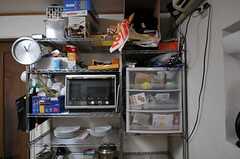 キッチン家電の様子。(2012-01-24,共用部,KITCHEN,1F)