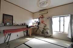 専有部の様子。リビング脇の専有部です。(101号室)(2012-01-24,専有部,ROOM,1F)