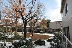 公園の様子。(2012-01-24,共用部,OTHER,1F)