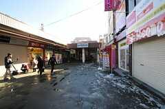 西武新宿線・新井薬師前駅の様子。(2012-01-24,共用部,ENVIRONMENT,1F)