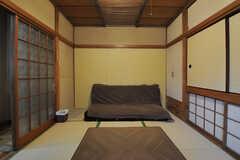 ソファが置かれています。(2012-07-09,共用部,LIVINGROOM,1F)