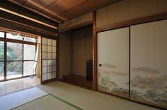 玄関脇の専有部。(101号室)(2012-07-09,専有部,ROOM,1F)