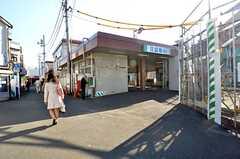 西武新宿線・沼袋駅の様子。(2015-12-07,共用部,ENVIRONMENT,1F)