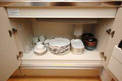 食器の様子。(2008-10-14,共用部,OTHER,1F)
