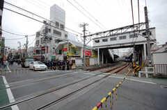 西武新宿線新井薬師駅の様子。(2008-10-14,共用部,ENVIRONMENT,1F)