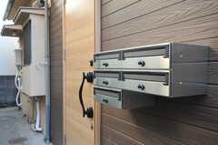 ポストは部屋ごとに用意されています。(2011-10-31,共用部,OTHER,1F)