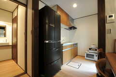 冷蔵庫の様子。(2011-10-31,共用部,KITCHEN,1F)