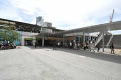 JR・中野駅の様子。(2020-09-18,共用部,ENVIRONMENT,1F)