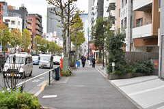 各線・中野坂上駅前の様子。(2019-12-09,共用部,ENVIRONMENT,1F)