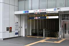 各線・中野坂上駅の様子。(2019-12-09,共用部,ENVIRONMENT,1F)